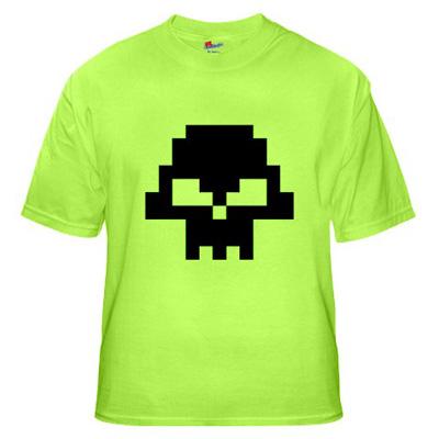 8bit+skull+t shirt 8 bit Skull t shirt