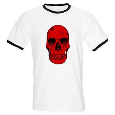 red+skull+t shirt Red Skull t shirt