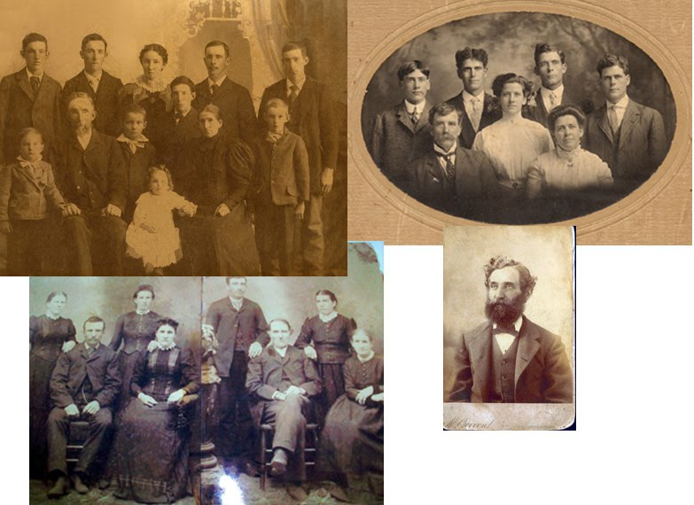 The Copeland, McKay, and Finney Family photos with Peter McKinlay photo