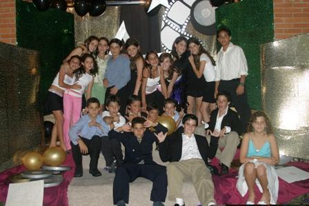 Fiesta HOLLYWOOD de Danella (14 años)