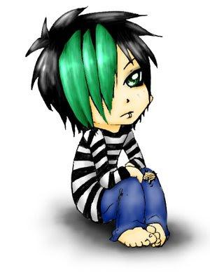 Emo Boy Cartoon