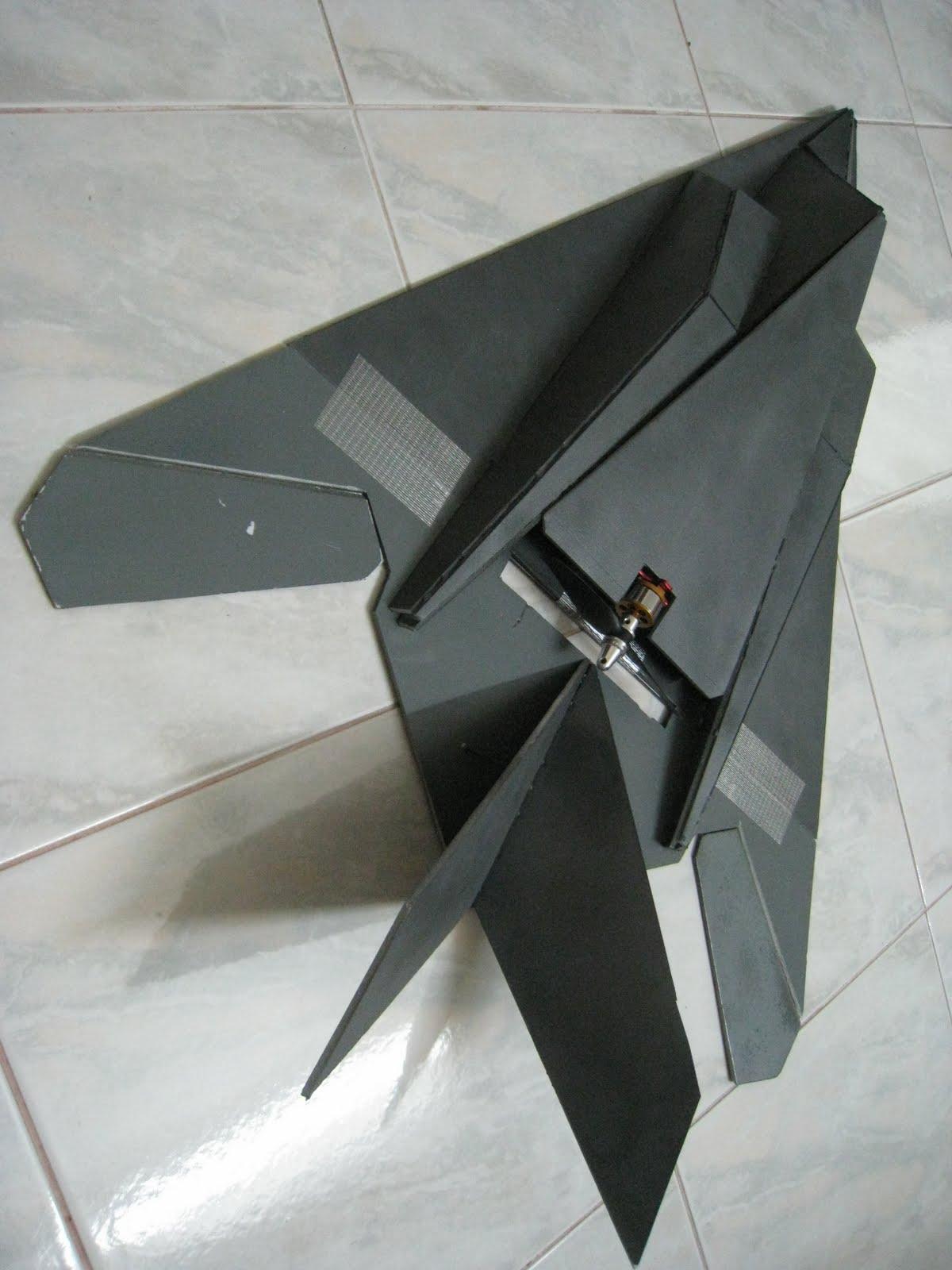 Newly Blogged: DIY Depron Stealth F117