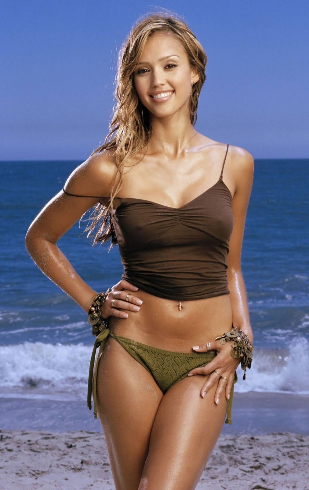 Gorgeous Jessica Alba Very Hot Glery