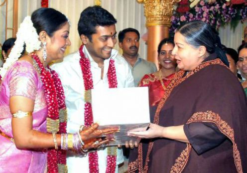 The Surya Fans Surya Jothika Wedding Photos