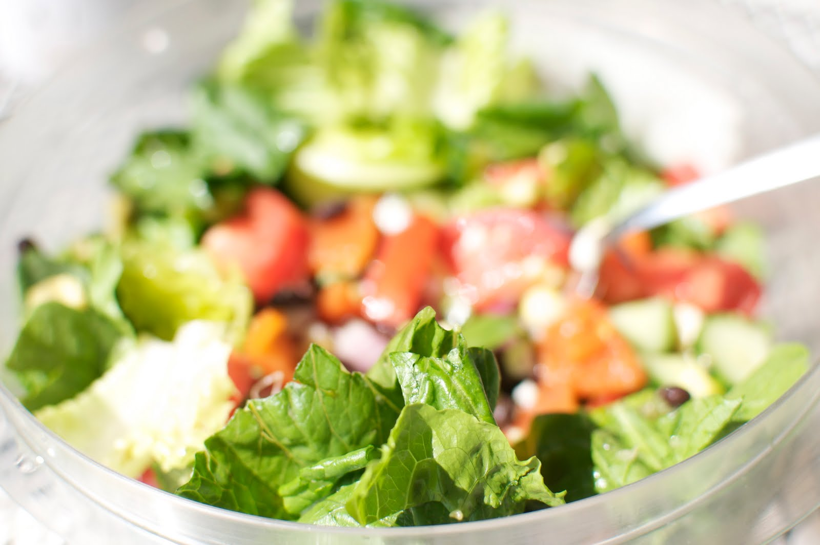 Where to Eat Vegan: Chop Mexican Salad with Cilantro Lime Dressing