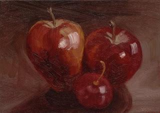 a painting by Vani Pippalla Akula