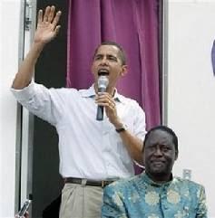 obama with odinga