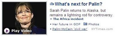 palin bashing in media