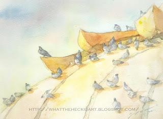 watercolor by gurmeet