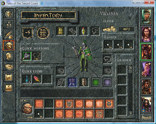 Baldur's Gate playing normally after disabling Nvidia-accelerated DirectDraw