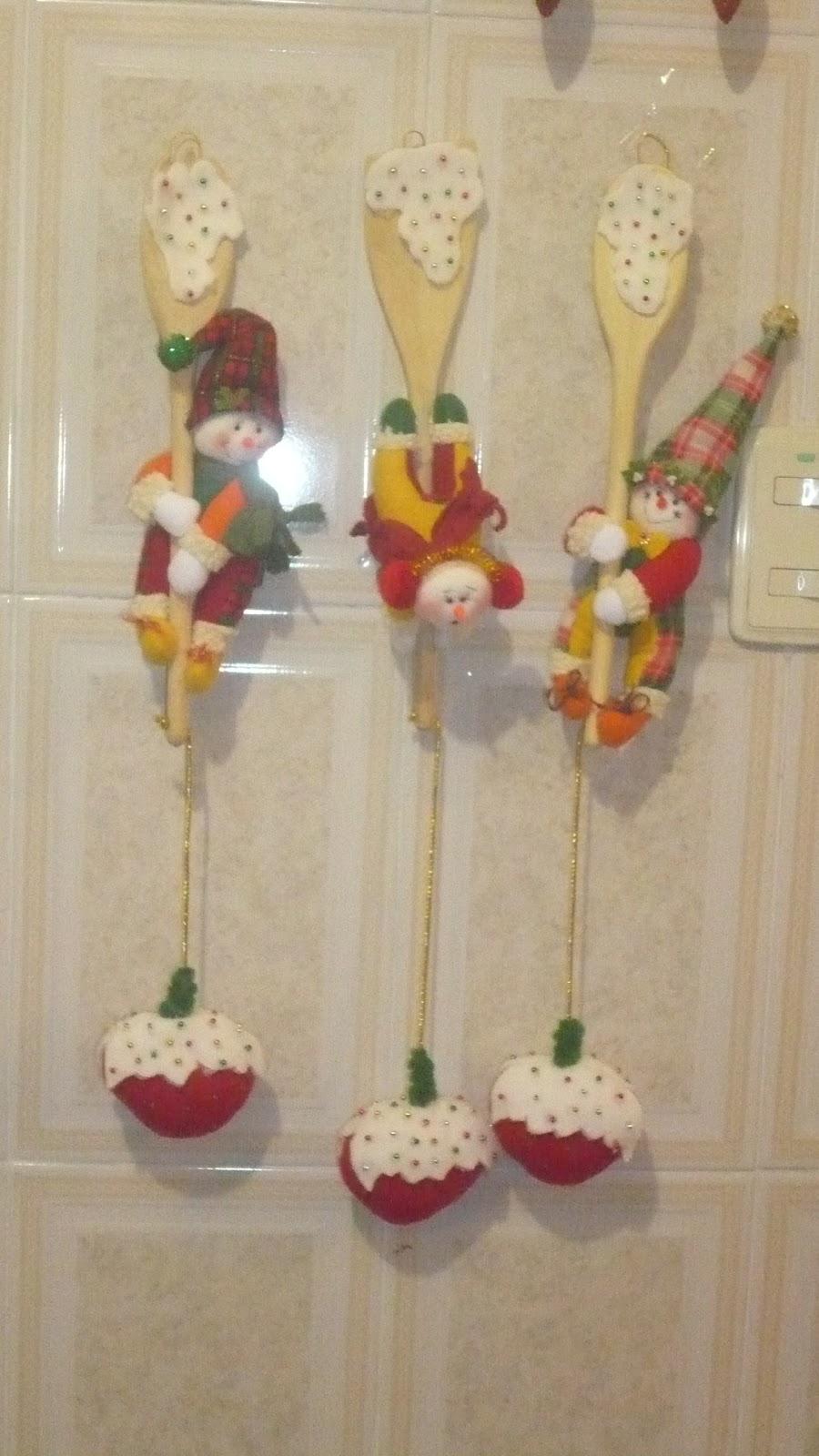 Adornos de navidad en la cocina for Adornos para cocina