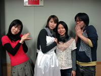 (l-r)Asano Masumi, Koshimizu Ami, Sanpei Yuuko, Washizaki Takeshi