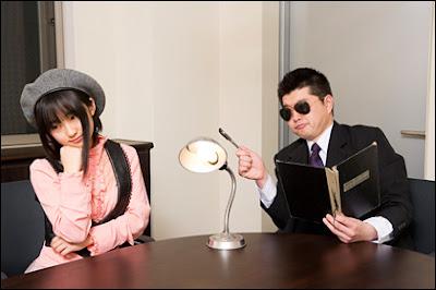 Yuuki Aoi and 'Squad leader Tamon'