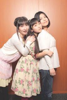 Kurenai cast - Masu Nozomi (Ginko), Yuuki Aoi (Murasaki), Miyuki