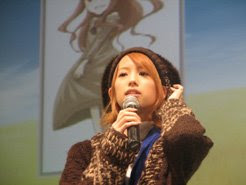 Koshimizu Ami at a Spice &amp; Wolf live event
