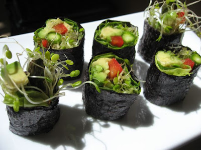 Foods For Long Life: Veggie Sushi Rolls—Healthy, Easy To Create And ...