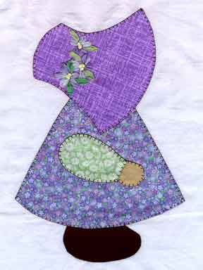 Baby Sunbonnet Sue and Overall Sam..free patterns | Fabric