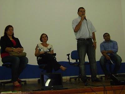 Prefeito James Gomes abre oficialmente a semana pedagógica