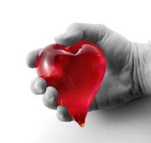Mi corazón esta en tus manos.