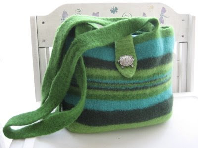 Free Knitting Pattern Felted Bag : Sleepy Eyes Knitting: The Armando Hat, A Felted Bag and Me