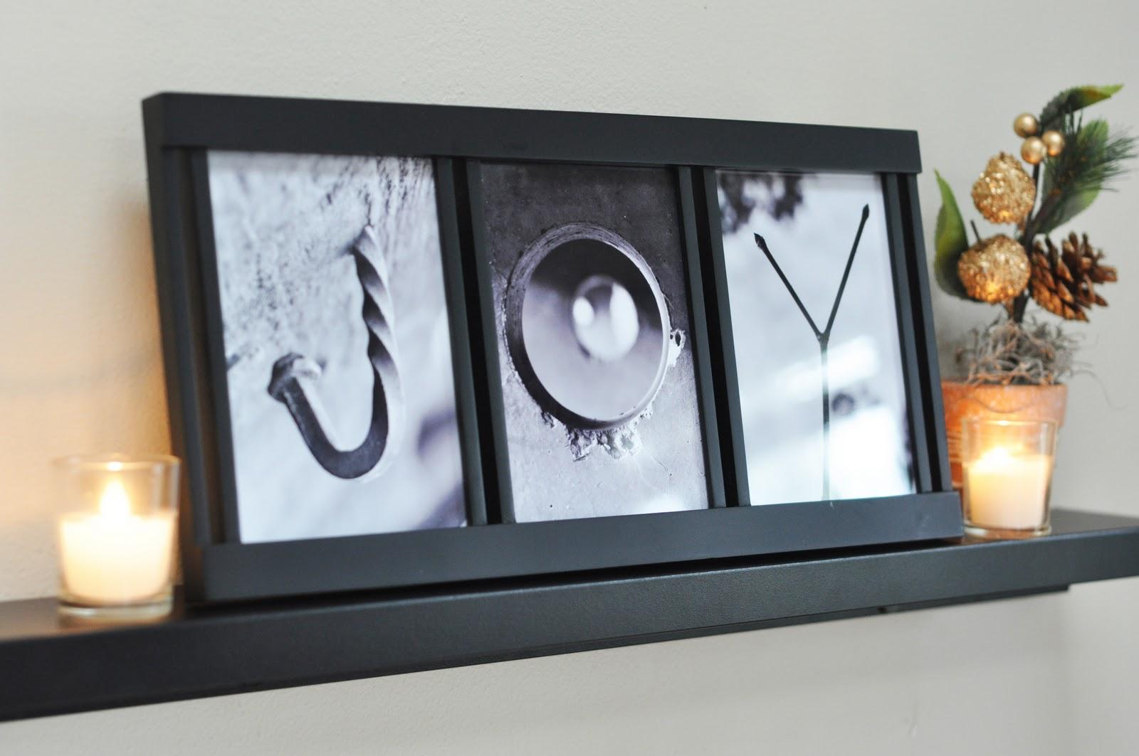 Craftily Ever After: 'JOY' Alphabet Photography Printables