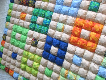 Puff Quilt The Last Quilt Of 60 Geta's Quilting Studio Amazing Puff Quilt Patterns