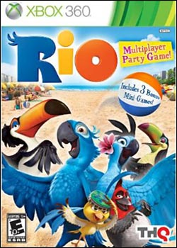 rio Download   Rio   The Game XBOX360 iCON (2011)
