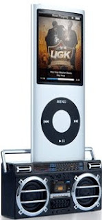 Retro Stereo iPhone & iPod speakers