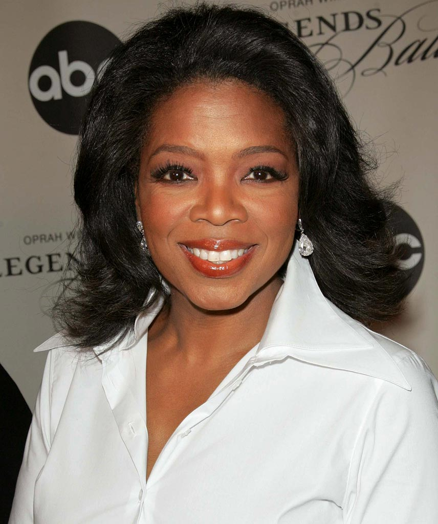Oprah Winfry smile beautiful