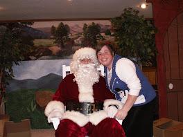 Sam as Santa