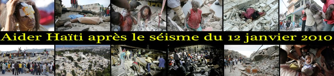 Aider Haïti après le séisme