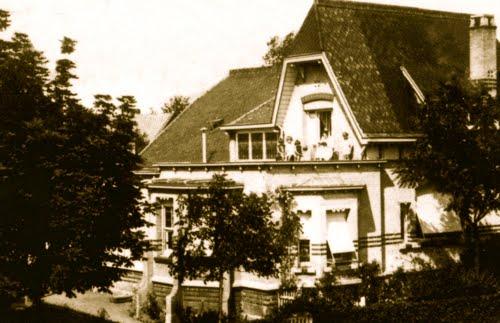 Le Vert Cottage (façade ouest)