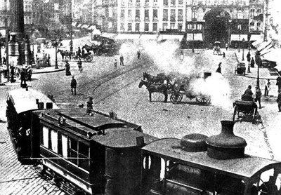 Le tram vapeur