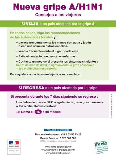 Conseils aux voyageurs (en espagnol)