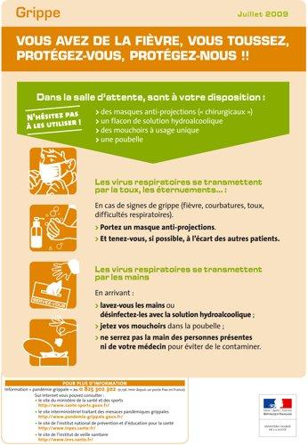 Affiche conseil salle d'attente
