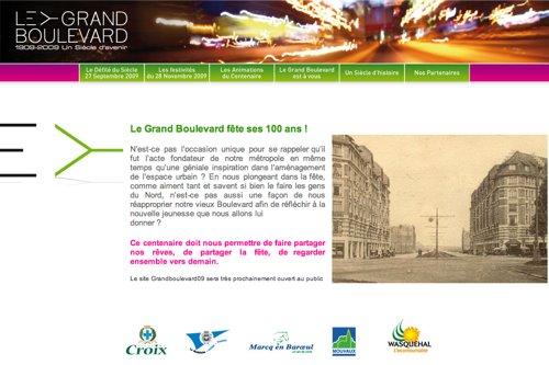 Un nouveau site celui de Grand Boulevard 09