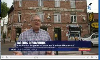 France 3 diffuse un reportage à l'occasion de la sortie du livre sur le Grand Boulevard