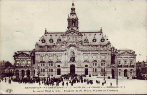 Inauguration de l'Hôtel de ville en 1911
