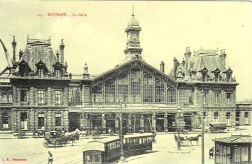 La gare de Roubaix en 1911
