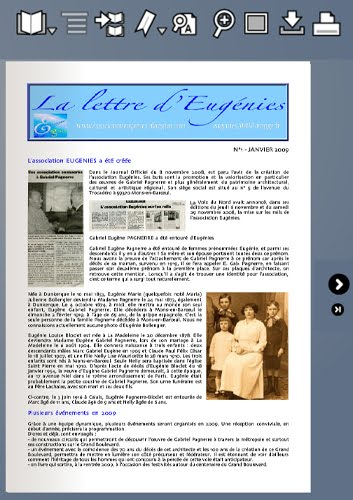 La lettre de janvier 2009