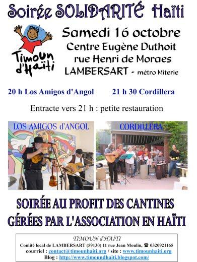 Concert latino du 16 octobre 2010