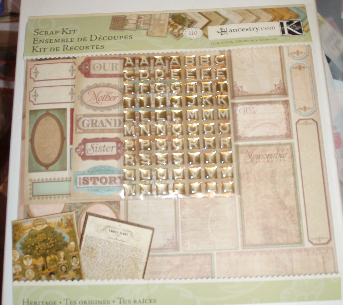How to scrapbook family tree - Some Of The Features Of The Kit Include A Family Tree Which Holds 10 Pictures A Page For Your Family S Story A Family Group Sheet And A Pedigree Sheet