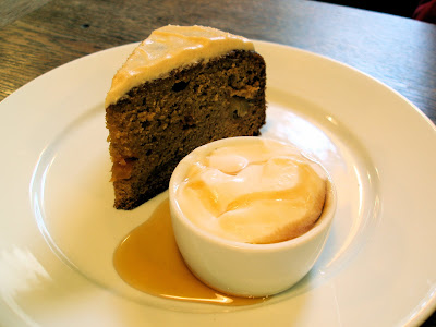 J and A cafe Clerkenwell apple maple cake