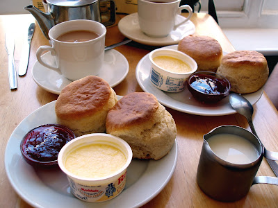 Cornish cream tea Newquay