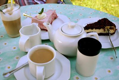 Idyll am Wollgastsee tea cake kuchen