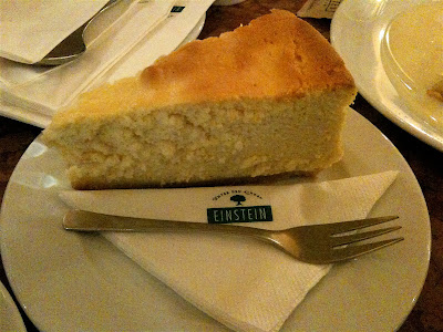 Cafe einstein Mitte cheesecake