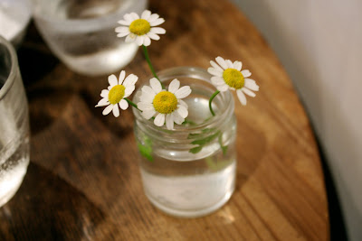 Drole Naka-Meguro Tokyo daisies jam jar
