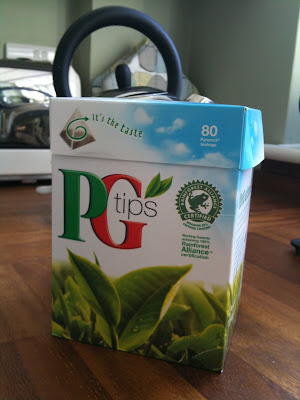 PG Tips moving house