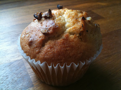 Spiced maple and pecan muffin wood