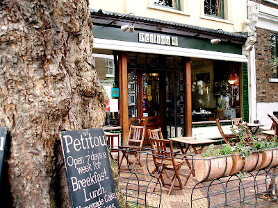 Petitou outdoor seating exterior